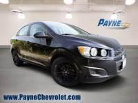 Certified 2016 Chevrolet Sonic LT