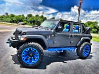 Used 2018 Jeep All-New Wrangler Unlimited CUSTOM LIFTED LEATHER FABTEC OCD NITTO