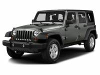Home of the $500 Price Beat Guarantee: 2016 Jeep Wrangler Unlimited Sport SUV