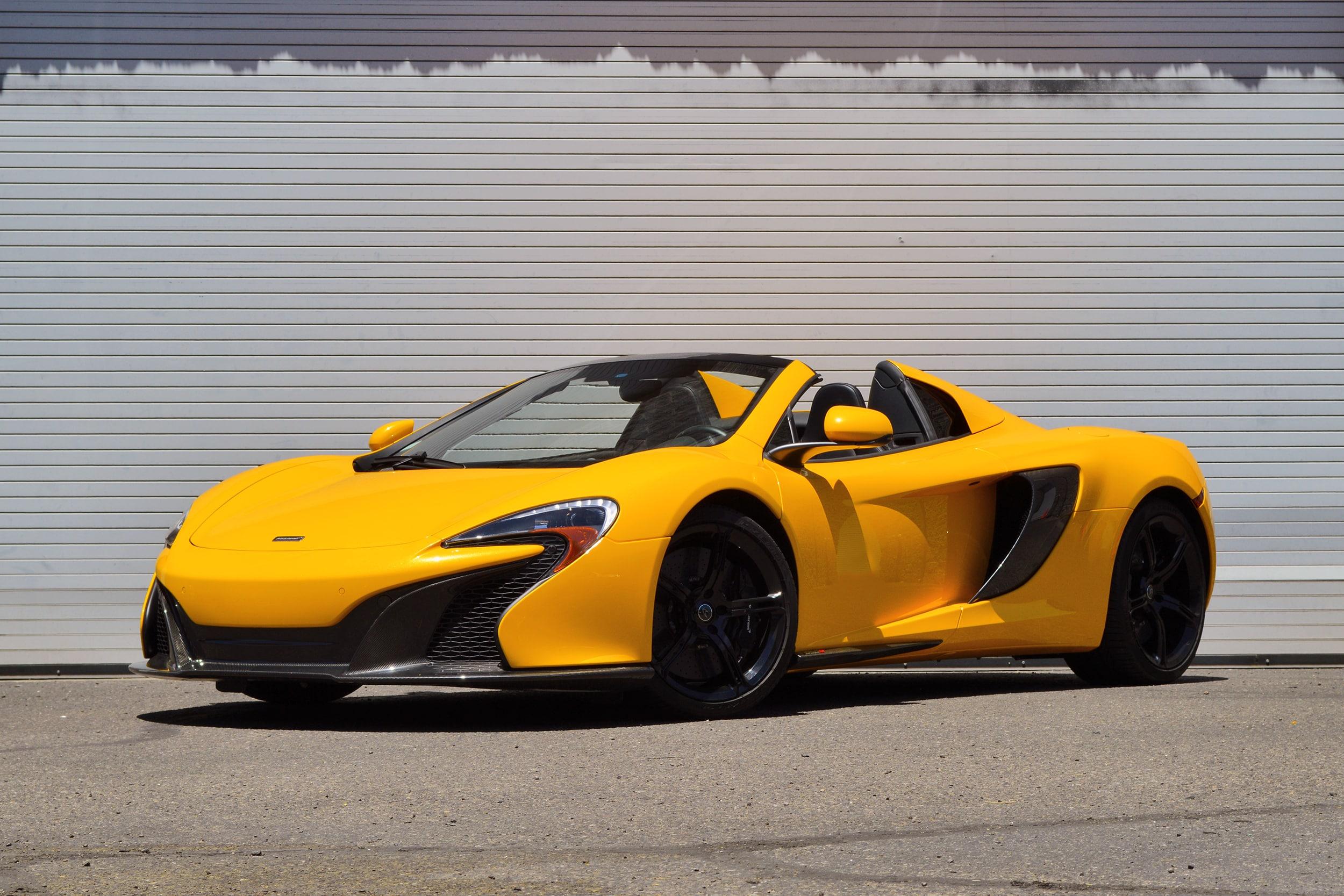 Photo 2015 McLaren 650S Spider Convertible