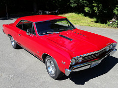 Photo 1967 Chevrolet Chevelle SS396. 5spd. Restomod with original parts included.