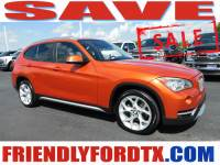 Used 2014 BMW X1 Xdrive28i SUV 4-Cylinder DOHC 16V TwinPower Turbo for Sale in Crosby near Houston