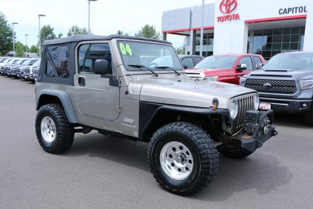 Photo 2004 Jeep Wrangler 2dr X in Salem, OR