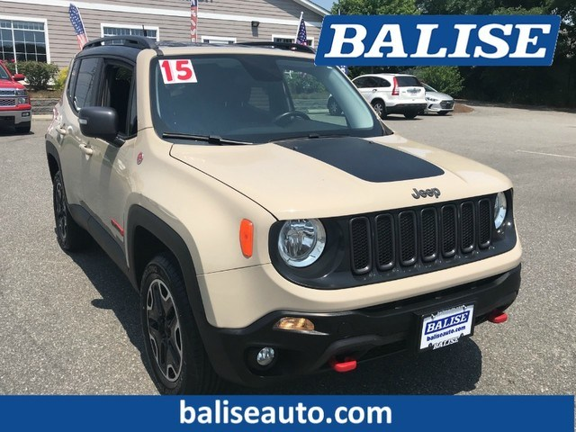 Photo Used 2015 Jeep Renegade Trailhawk for Sale in Hyannis, MA