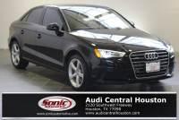 Certified Used 2016 Audi A3 2.0T Premium Sedan in Houston, TX