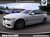 2015 BMW 4 Series 428i * BMW CPO Warranty * One Owner * M Sport Pkg Convertible Rear-wheel Drive
