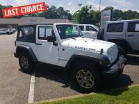 2016 Jeep Wrangler Rubicon SUV V6 24V VVT