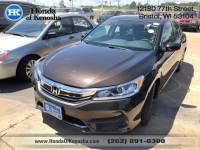 Certified Pre-Owned 2016 Honda Accord LX FWD Sedan