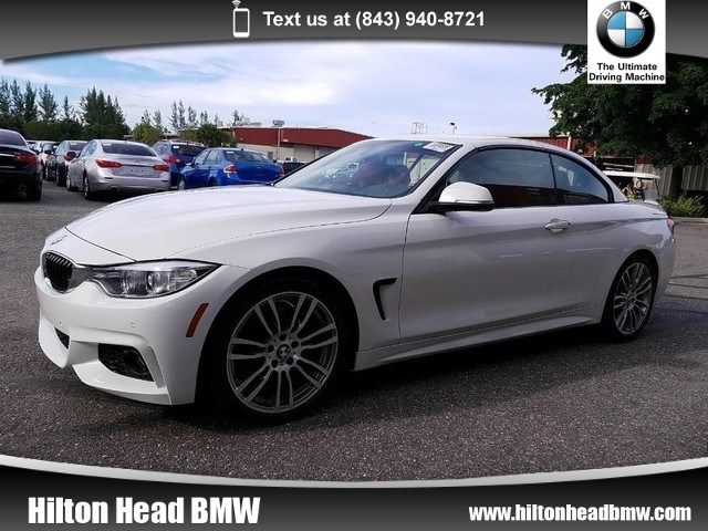 Photo 2015 BMW 4 Series 428i  BMW CPO Warranty  One Owner  M Sport Pkg Convertible Rear-wheel Drive