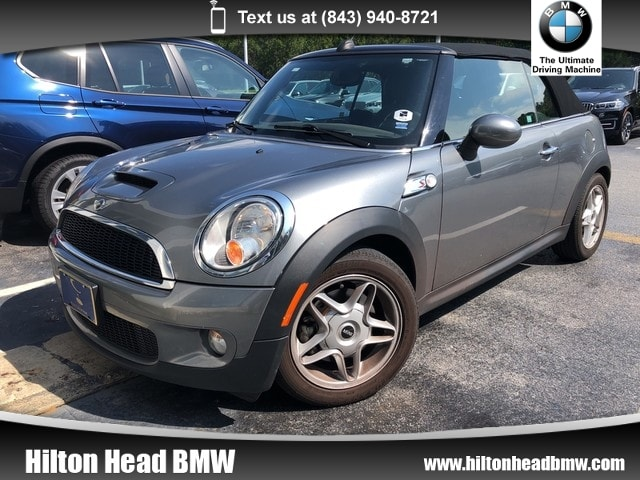 Photo 2009 MINI Cooper Convertible S  Clean Two Owner Trade In  6-Speed Manual Tran Convertible Front-wheel Drive