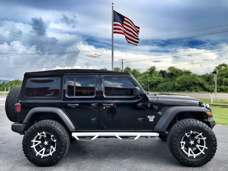 Photo Used 2018 Jeep All-New Wrangler Unlimited CUSTOM LIFTED LEATHER ROCK STAR SYKJACKER