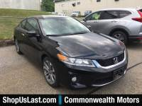 Certified Pre-Owned 2015 Honda Accord Coupe EX-L Front Wheel Drive Coupe