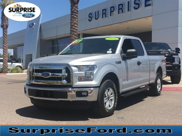 Photo Used 2016 Ford F-150 XLT Extended Cab Short Bed Truck V-6 cyl For Sale in Surprise Arizona