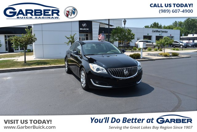 Photo Certified Pre-Owned 2016 Buick Regal Turbo Premium II With Navigation  AWD