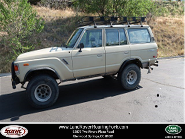 Photo Used 1981 Toyota Land Cruiser 4WD 4dr Utility in Glenwood Springs
