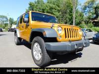 Used 2014 Jeep Wrangler Unlimited Unlimited Sport in Bristol, CT