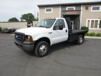 Used 2007 Ford F-350 4x4 Flatbed Truck