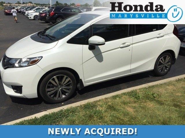 Photo Certified 2015 Honda Fit EX-L Hatchback
