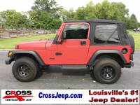 PRE-OWNED 1998 JEEP WRANGLER SAHARA 4WD