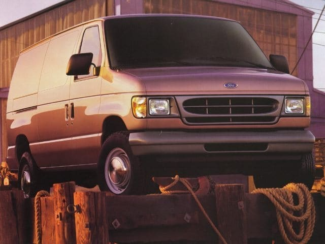 Photo 1999 Ford Econoline Cargo Van E-150 Wagon Cargo Van 8