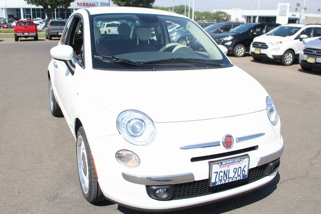 Photo Used 2015 FIAT 500 Lounge Hatchback in Merced, CA