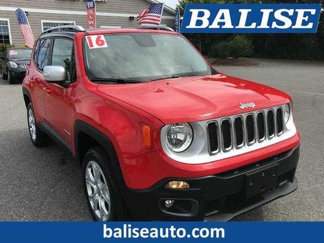 Photo Used 2016 Jeep Renegade Limited for Sale in Hyannis, MA
