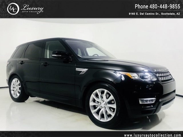 Photo 2017 Land Rover Range Rover Sport HSE Glass Roof  Meridian Sound  Htd Seats  Rear Camera  18 16 With Navigation
