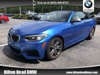 2015 BMW 2 Series M235i * BMW CPO Warranty * One Owner * Heated Seat Convertible Rear-wheel Drive