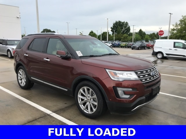Photo Used 2016 Ford Explorer Limited Fully Loaded W 2ND ROW Bucket Seats, Twin SUV V-6 cyl in Kissimmee, FL