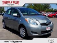 2011 Toyota Yaris 5 Door Liftback Front-wheel Drive in Temecula
