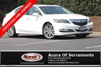 Certified 2016 Acura RLX RLX with Technology Package For Sale in Colma CA | Stock: PGC000186