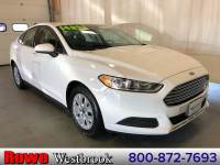 2014 Ford Fusion S Low Mileage Trade In We Always Serviced! Certifi Sedan 4 cyls