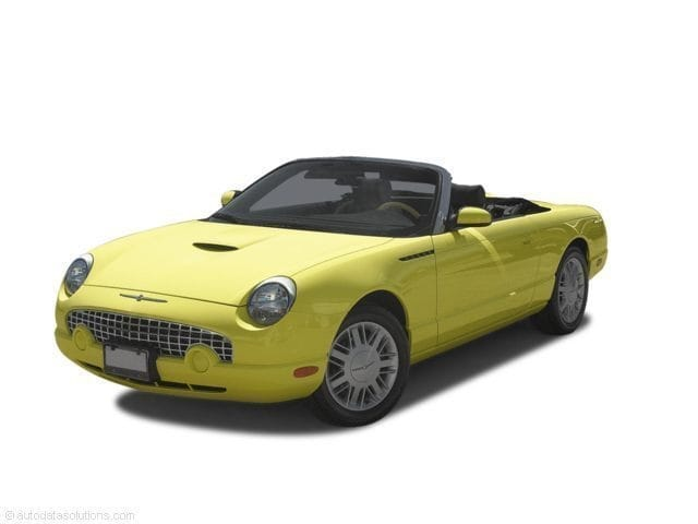 Photo Used 2002 Ford Thunderbird Convertible For Sale Near Los Angeles