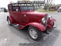 1931 Ford Model A Late 31, leather back Victoria