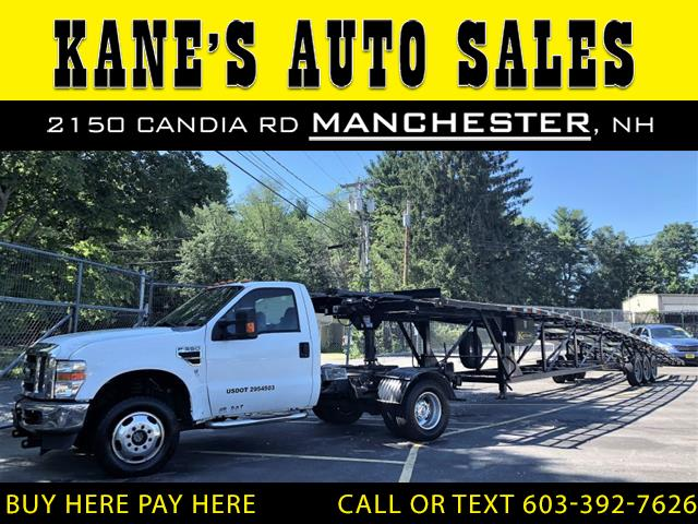 Photo 2008 Ford F-350 SD DUALLY WITH 3 CAR CARRIER