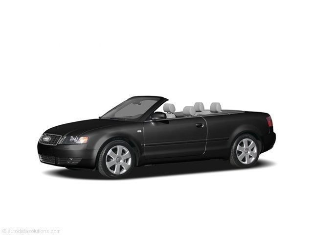 Photo Used 2004 Audi A4 1.8T Cabriolet Convertible