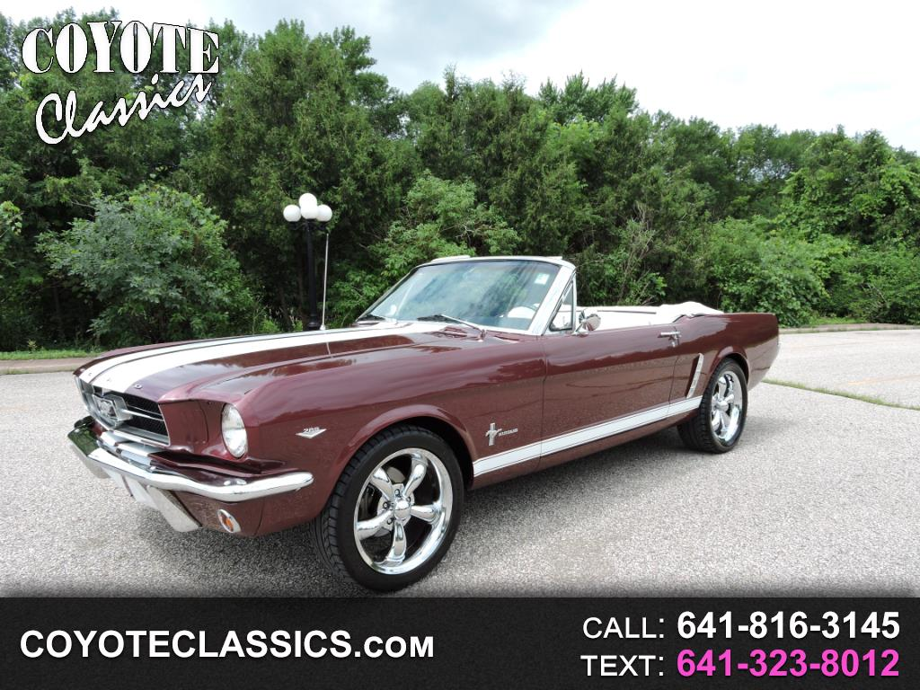 Photo 1965 Ford Mustang 2dr Convertible