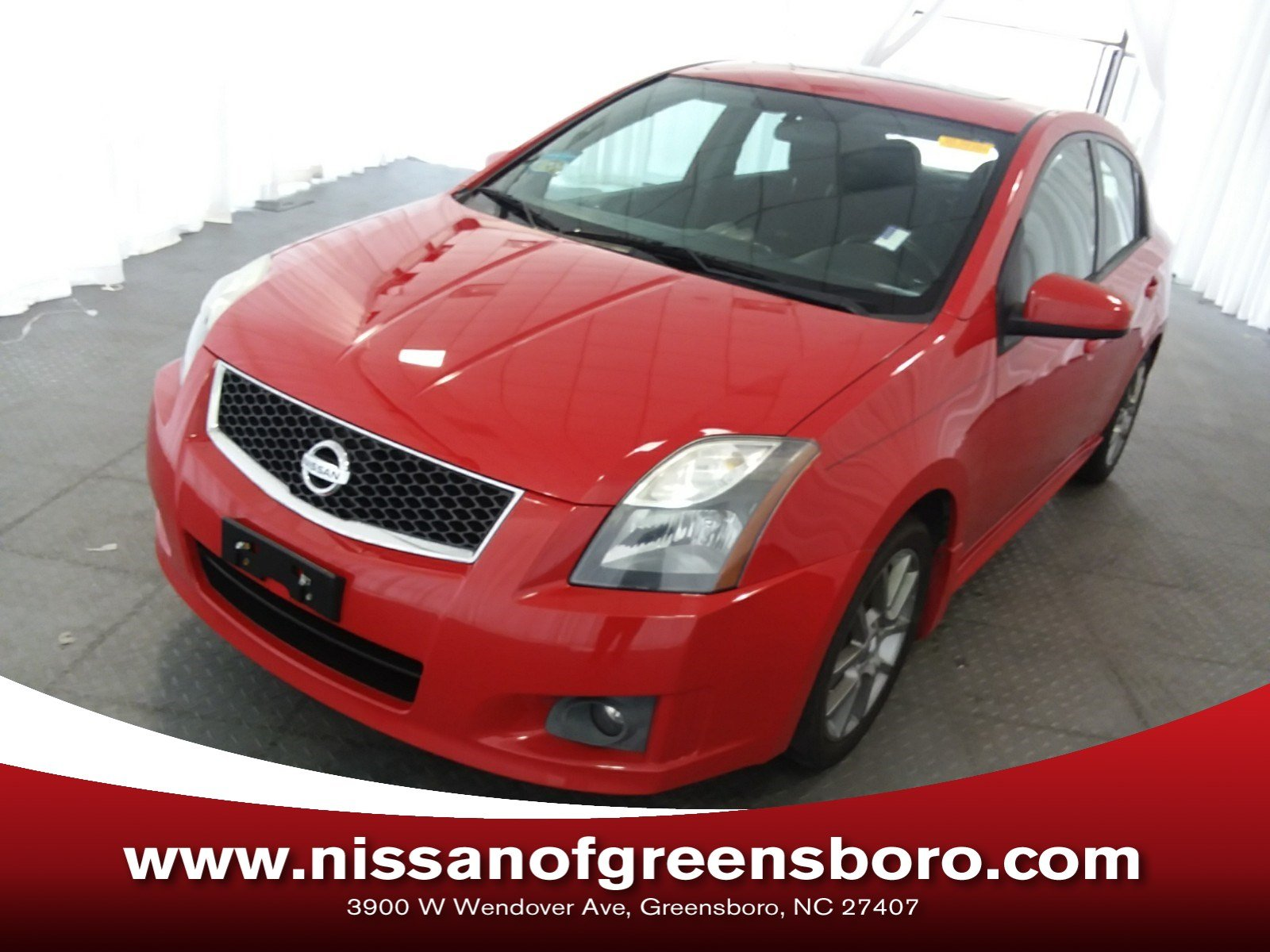 Photo Pre-Owned 2012 Nissan Sentra SE-R Spec V M6 Sedan in Greensboro NC