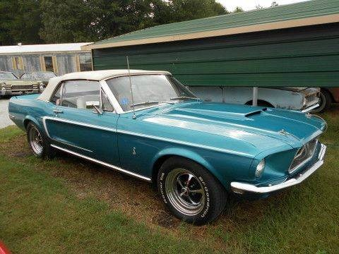 Photo 1968 Ford Mustang Shelby Cobra Convertible Clone