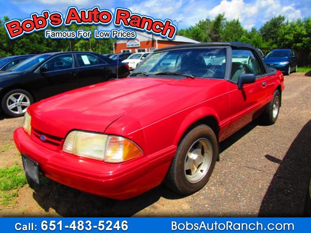 Photo 1993 Ford Mustang LX convertible