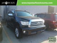 Pre-Owned 2011 TOYOTA SEQUOIA 4WD LV8 FFV 6-SPD AT PLATINUM Four Wheel Drive Sport Utility Vehicle