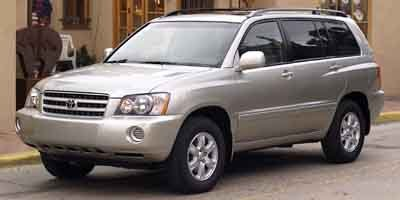 Photo Pre-Owned 2003 Toyota Highlander 4dr 4-Cyl Front Wheel Drive SUV