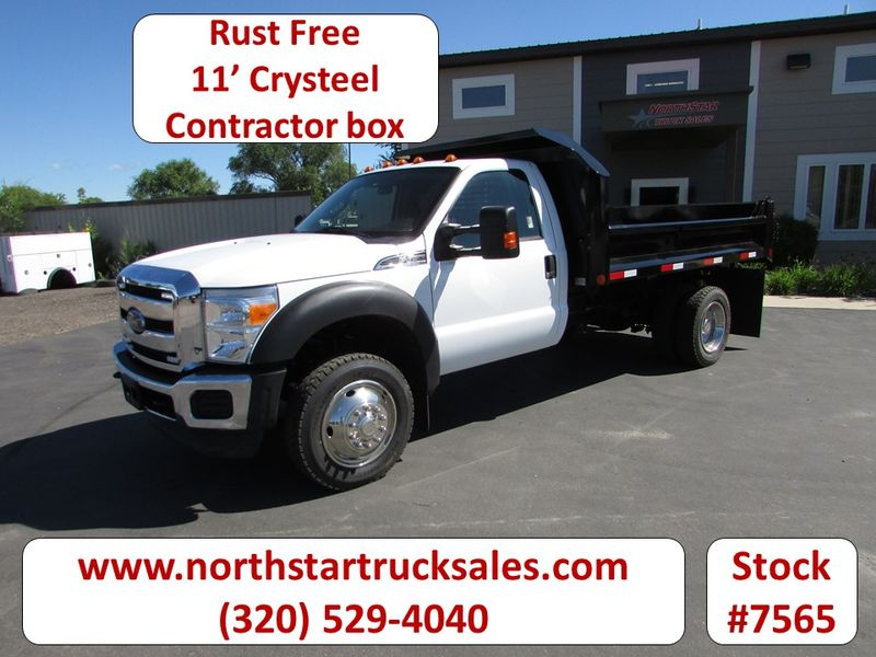 Photo Used 2012 Ford F-450 Dump Truck