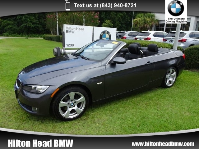 Photo 2007 BMW 3 Series 328i  6-Speed Manual Transmission  Heated Seats Convertible Rear-wheel Drive