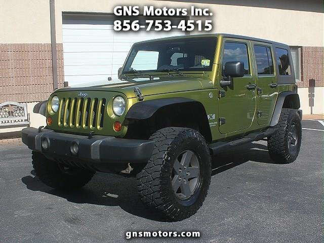 Photo 2007 Jeep Wrangler UNLIMITED 4DR 4WD LIFTED