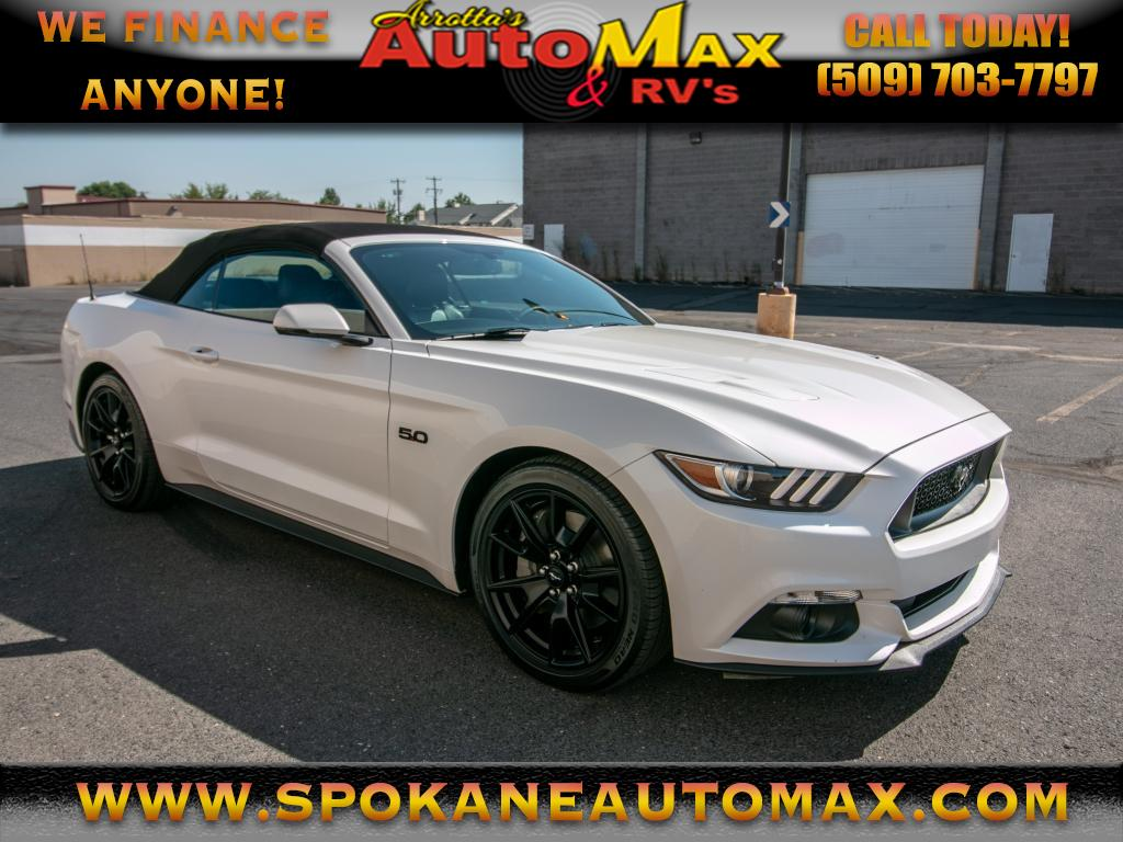 Photo 2017 Ford Mustang GT Premium 5.0L V8 6-Speed Manual Muscle