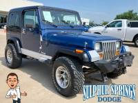 Used 1990 Jeep Wrangler YJ SUV
