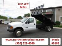 Used 1999 Ford F-450 Flat Bed Dump Truck