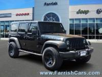 Certified Used 2016 Jeep Wrangler Unlimited Rubicon Hard Rock for sale in Fairfax VA