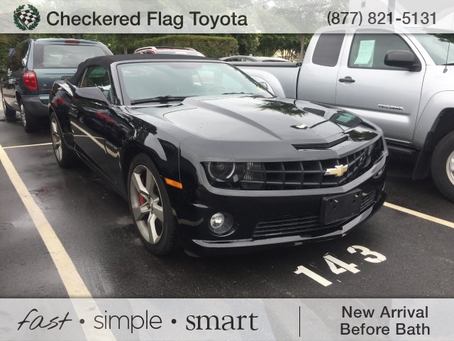 Photo Pre-Owned 2012 Chevrolet Camaro SS RWD 2D Convertible